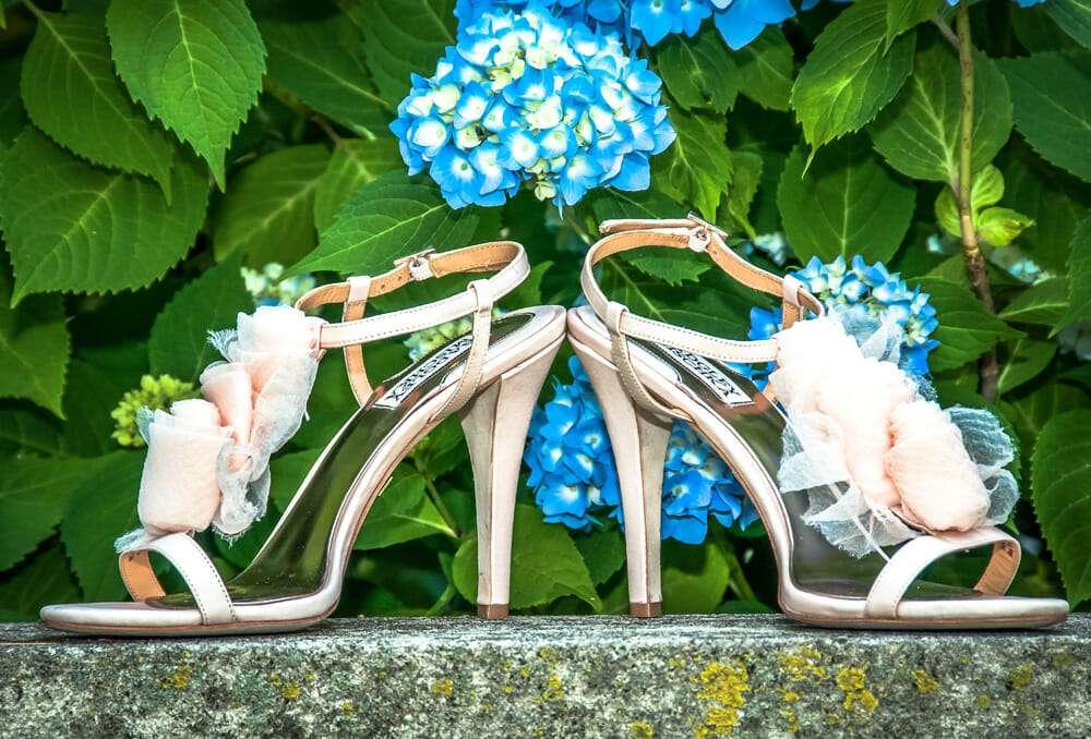 Wedding Shoes at Waveny House
