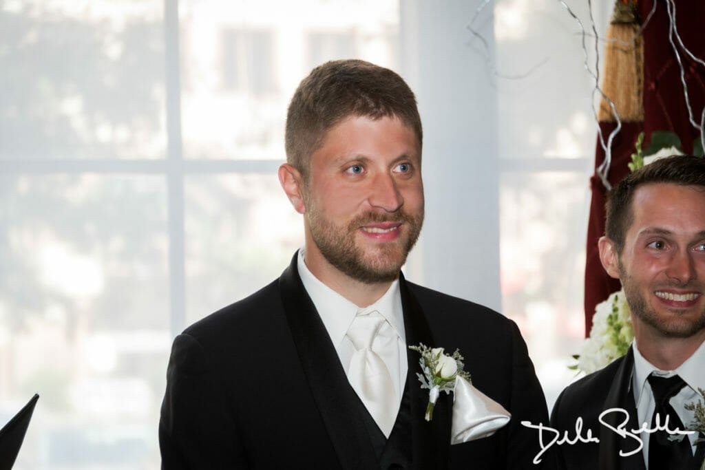 Wedding ceremony at The Society Room of Hartford