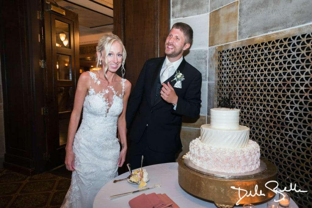 Cake Cut at The Society Room of Hartford