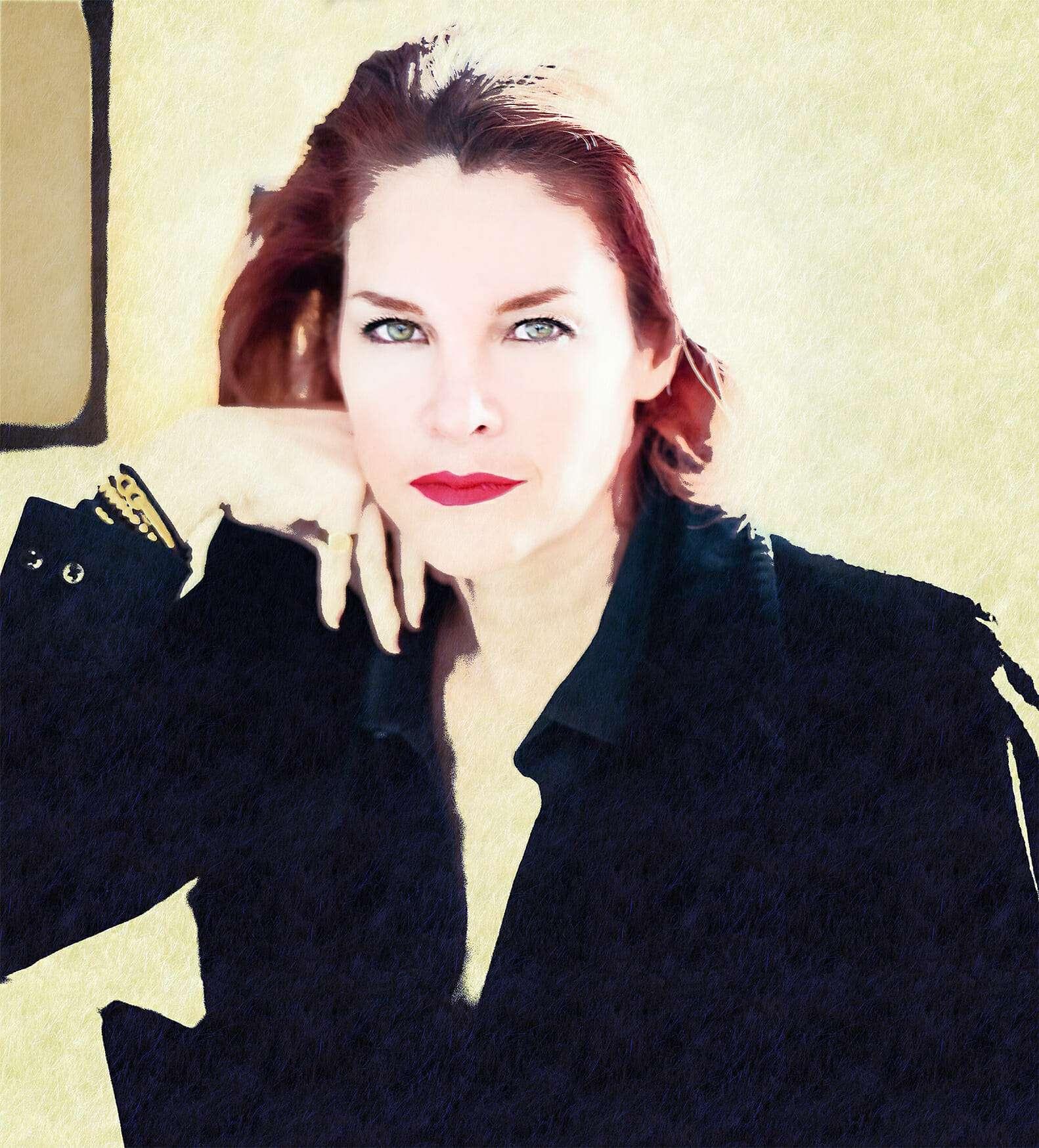 Mona Maine de Biran Portrait