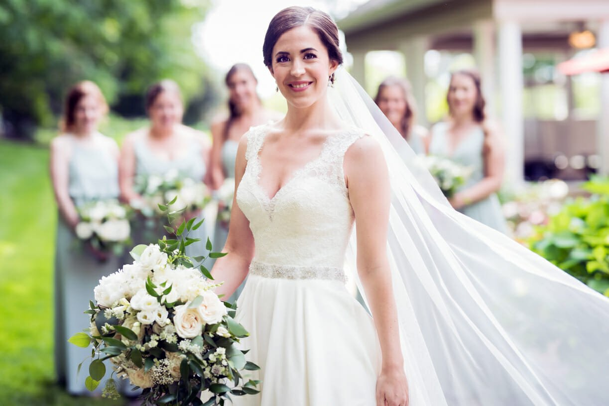 Bridal Portrait at Woodwinds in Branford, Ct.