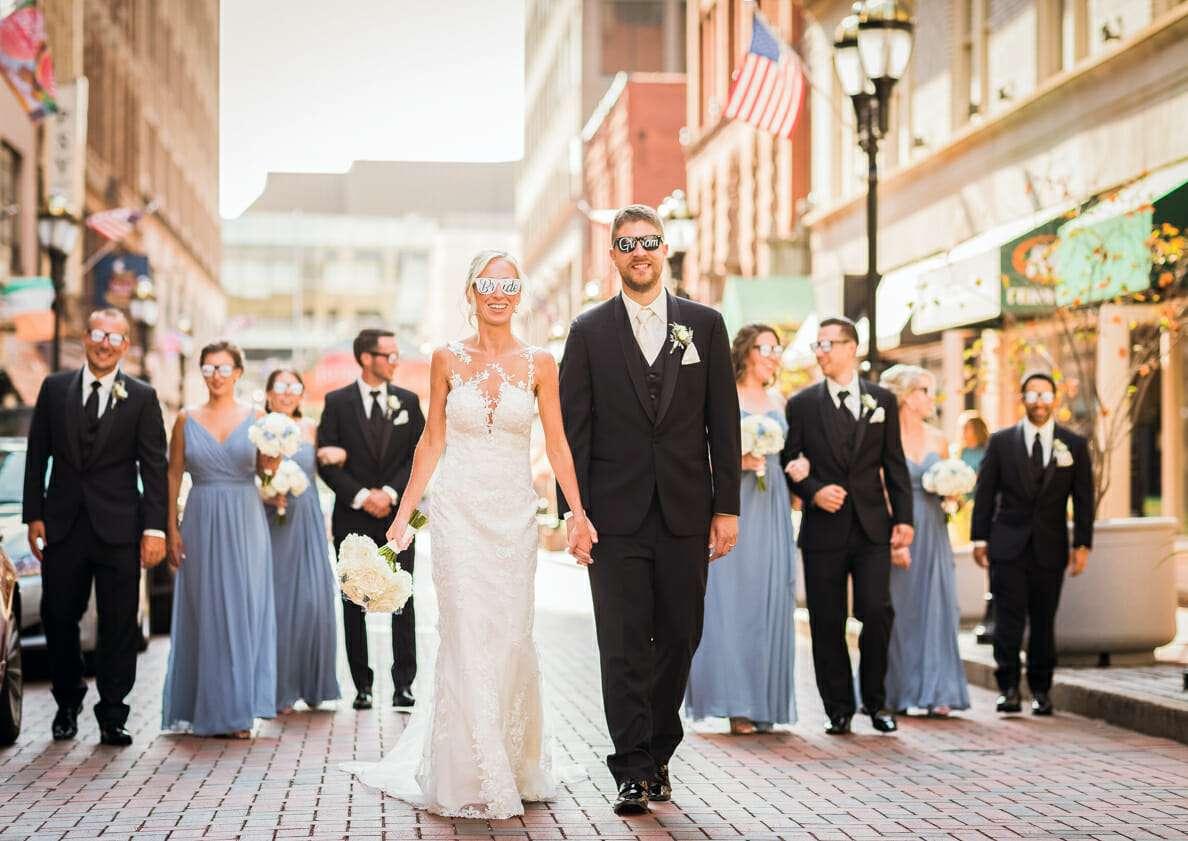 Wedding Party Photographs